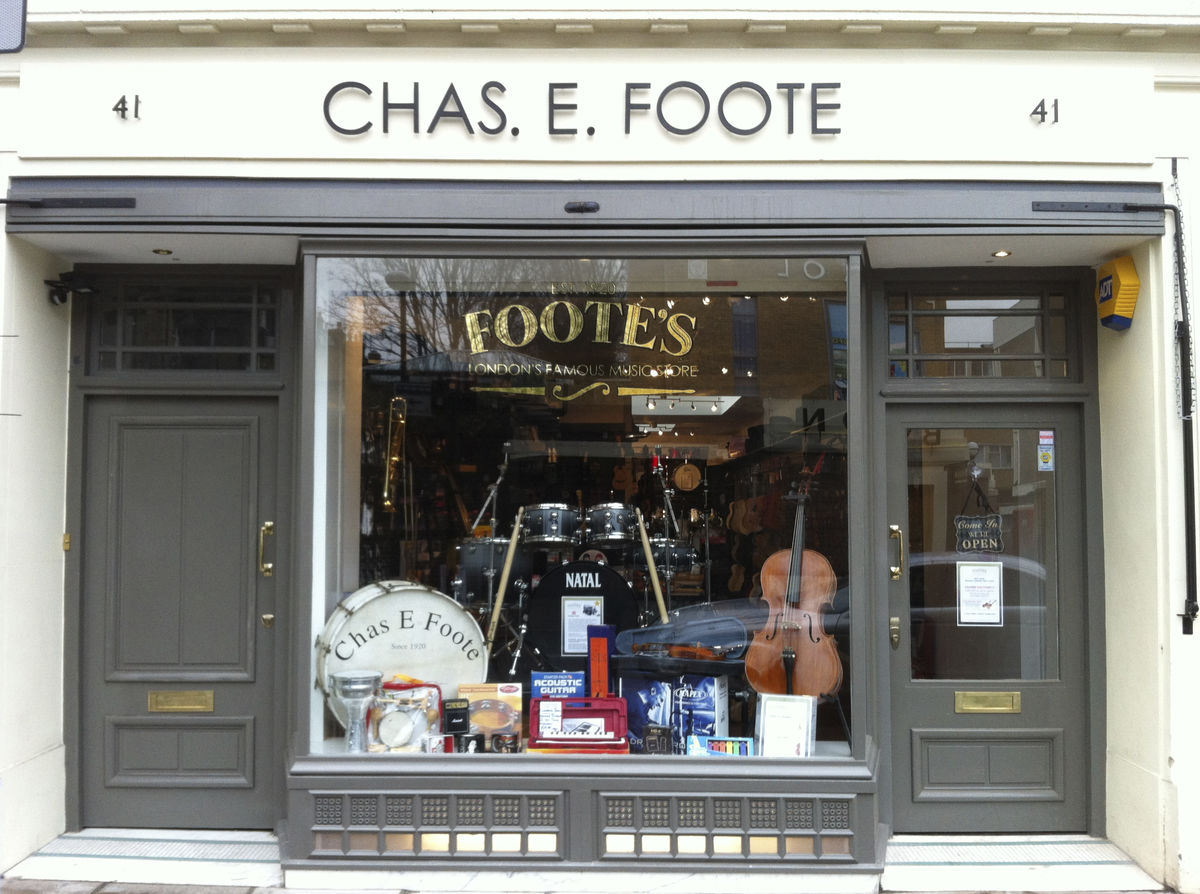 Footes Shop Window