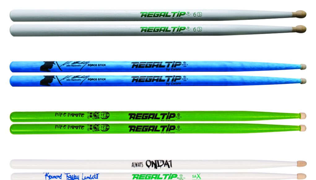 New sticks from Regal Tip
