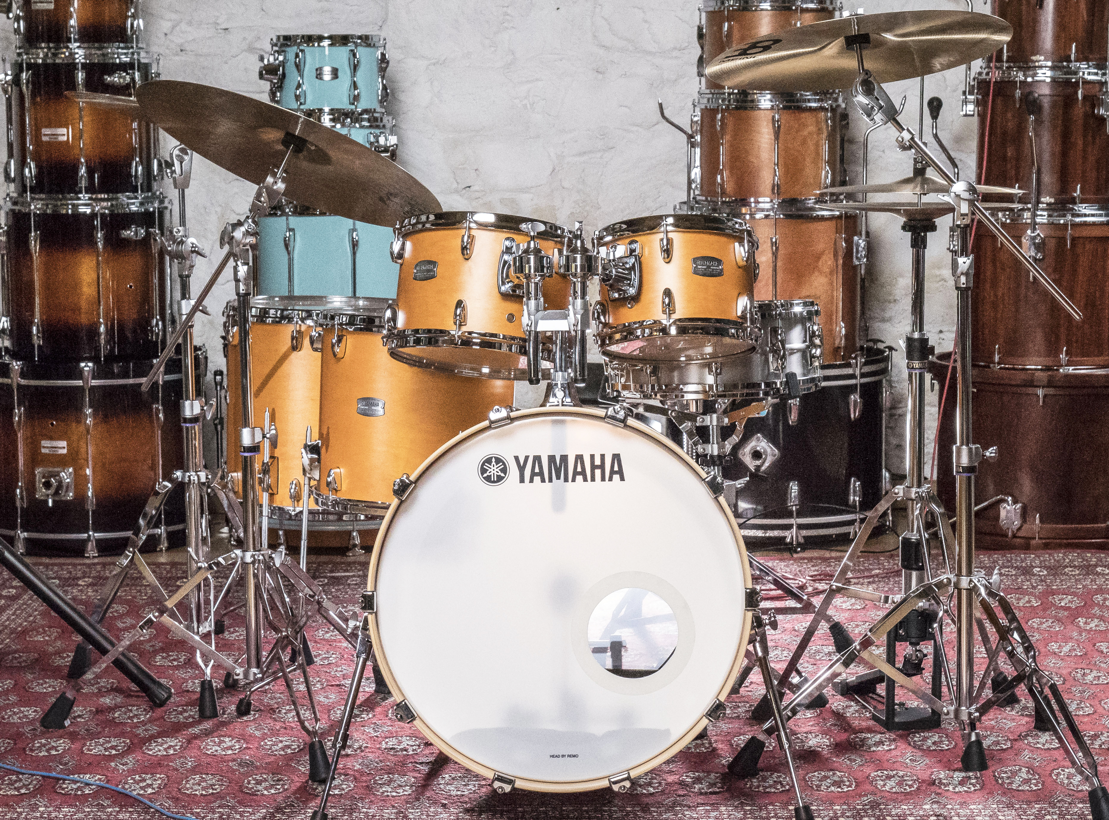 Drum Kit Review Yamaha Tour Custom Shell Pack Drummer