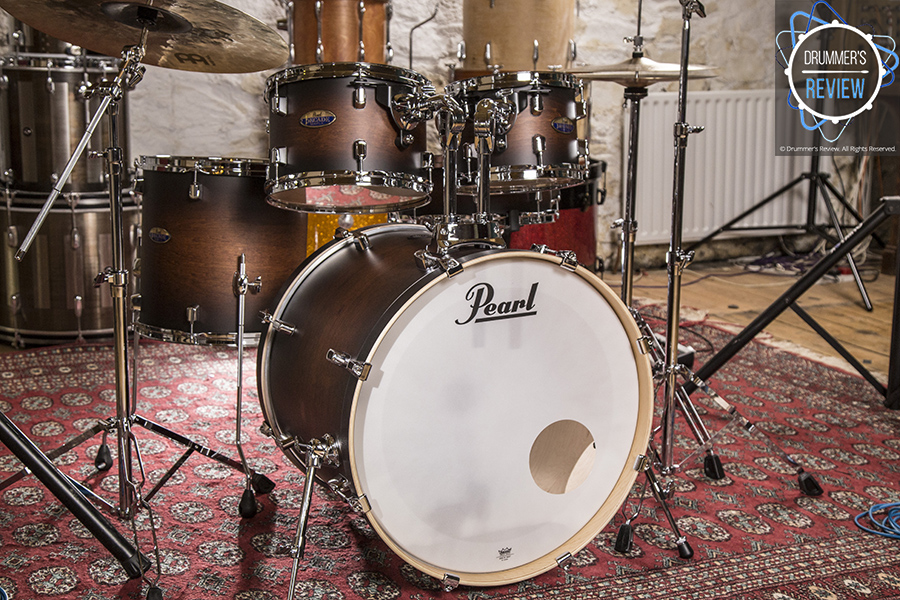 pearl decade maple drum kit 02 drummer 39 s review. Black Bedroom Furniture Sets. Home Design Ideas