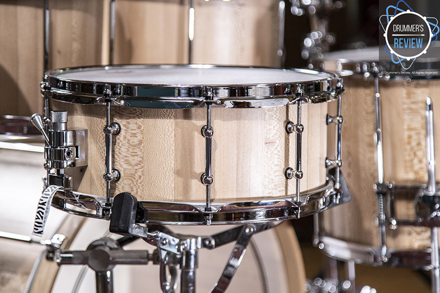 Drum Kit Review - Zebra Drums Free Floating Five-Piece Shell Pack