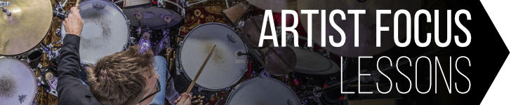 Artist Focus Lessons by Drummer's Review