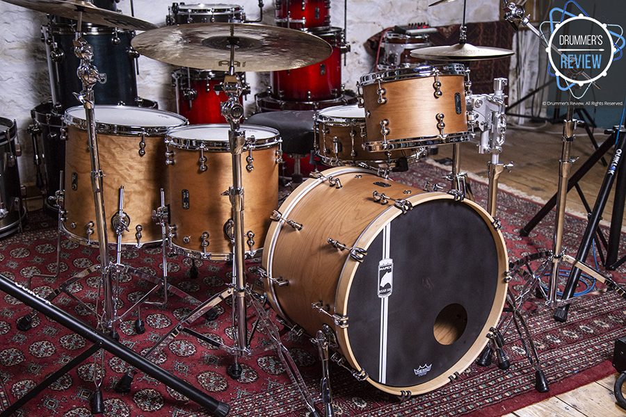 Mapex Black Panther Design Lab Cherry Bomb System Shell Pack