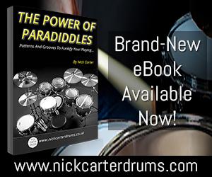 Nick Carter Drums