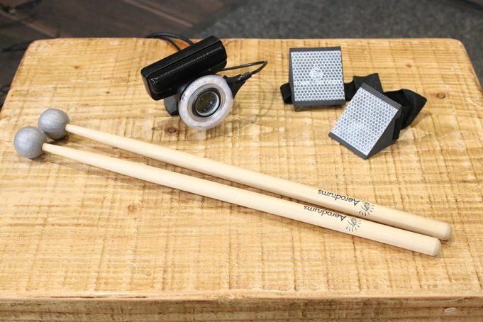 Aerodrums Air Drumming System